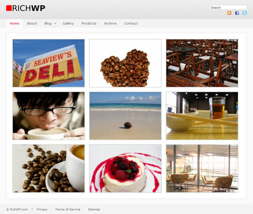 RichWP Photo WordPress Theme