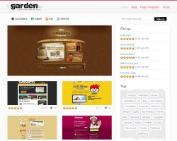 Garden Gallery Premium WordPress Theme