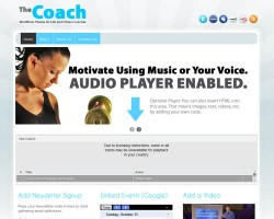The Coach WordPress Theme
