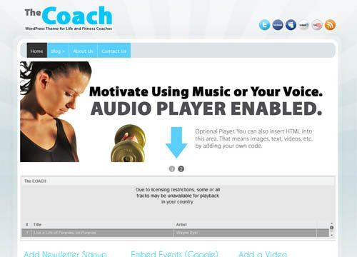 The Coach / Consultant WordPress Theme