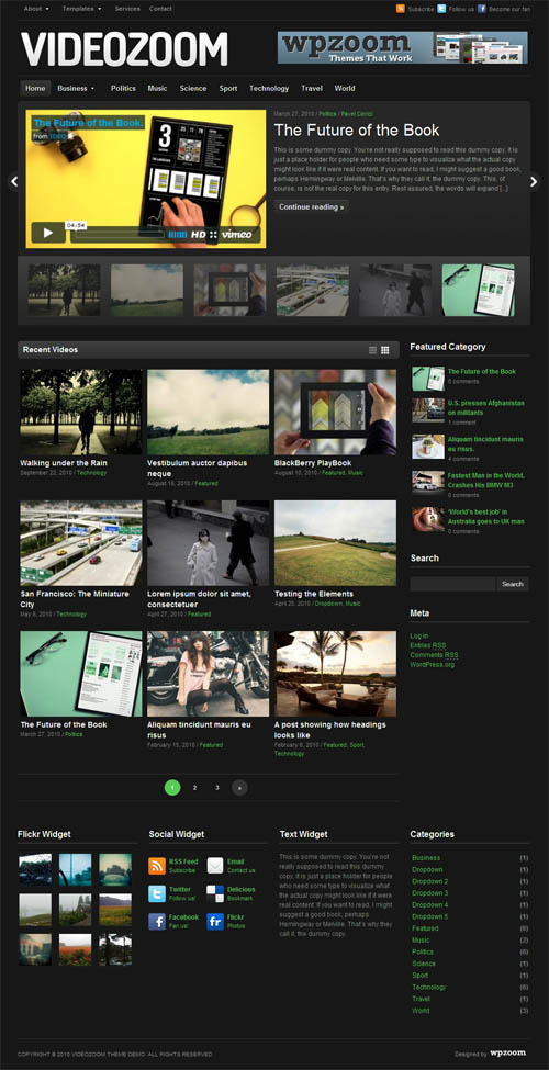 35+ Excellent WordPress Video Themes