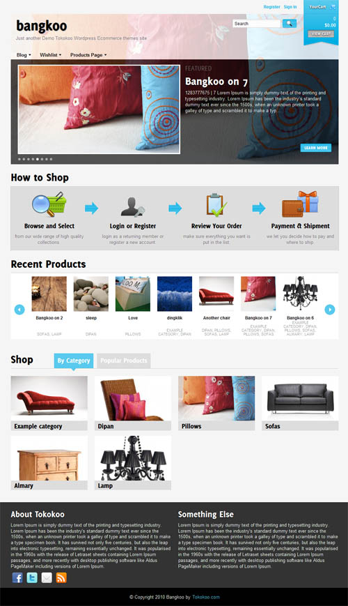 Bangkoo Ecommerce WordPress Theme