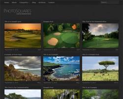Photo Squares Premium WordPress Theme