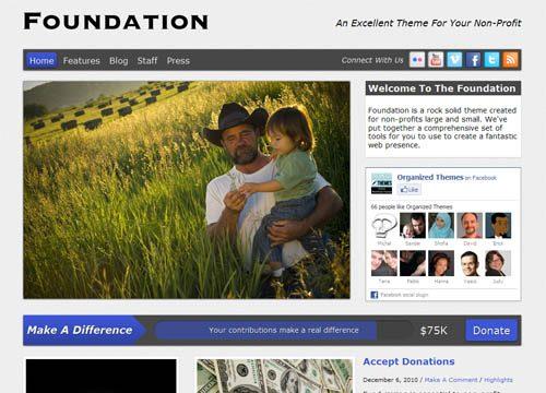 Foundation Premium WordPress Theme