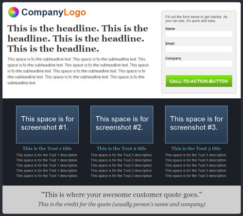 Wordpress landing page plugin landing page pronofoot35fo Image collections