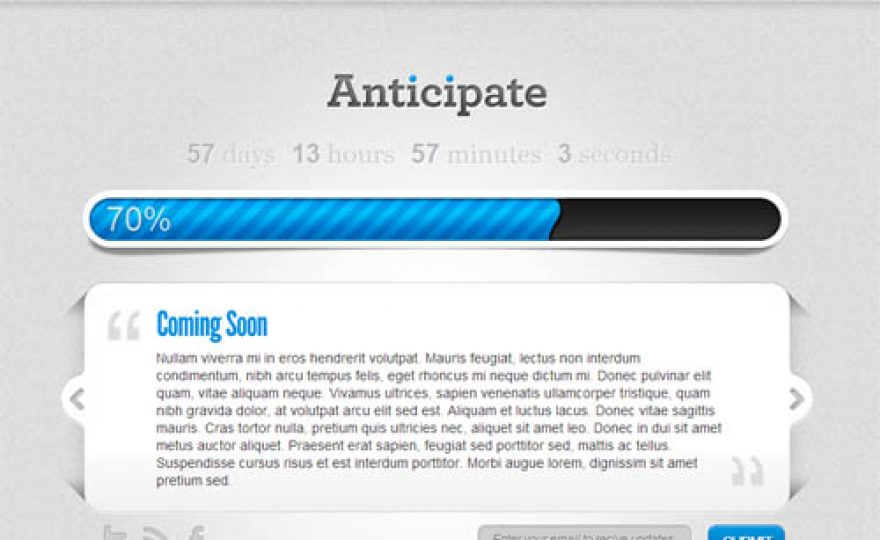 Anticipate – WordPress Maintenance Mode Plugin