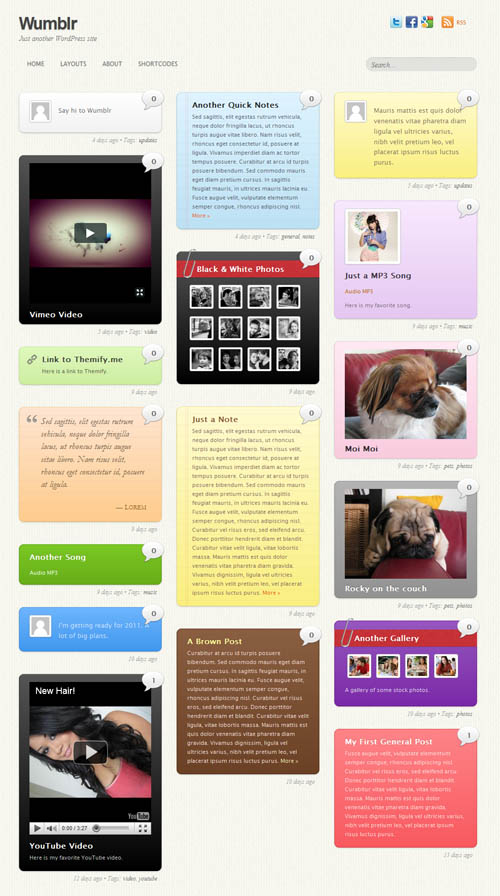 Wumblr Tumblr Premium WordPress Theme