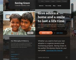 Charity Non Profit Organization WordPress Theme