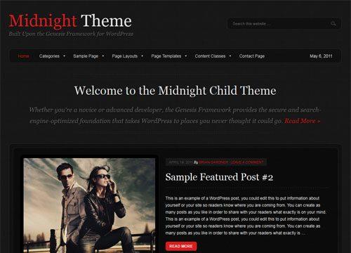 Midnight Premium WordPress Theme