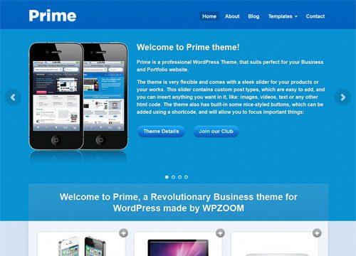 Prime Business Premium WordPress Theme