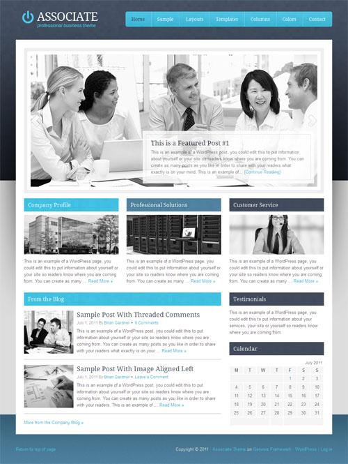 Associate Premium WordPress Business Theme