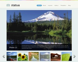 statua wordpress theme