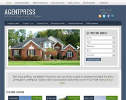 AgentPress 2.0 WordPress Real Estate Theme