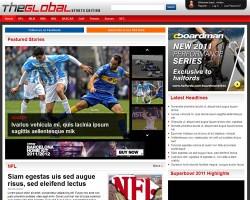 The Global Sports WordPress Theme