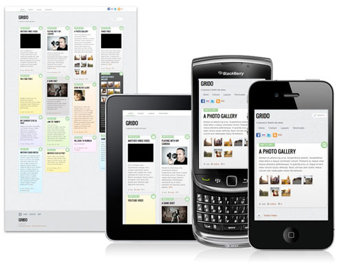 wordpress theme responsive design