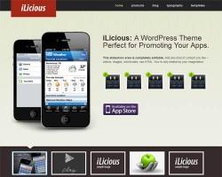 Ilocious Premium WordPress App Theme