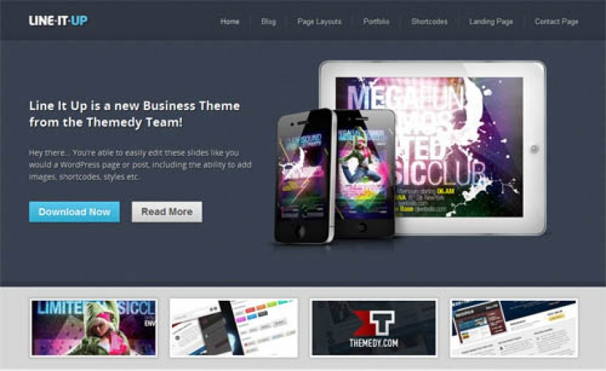 Line It Up Premium WordPress Theme