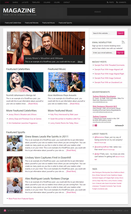 Magazine 2.0 Premium WordPress Theme