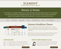 Element Premium WordPress Theme