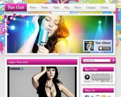 Fan Club Premium WordPress Theme