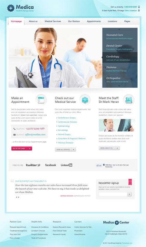 15 health and medical wordpress themes
