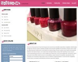 Nail Care Salon Business WordPress Theme