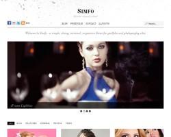 Simfo Responsive Premium WordPress Theme
