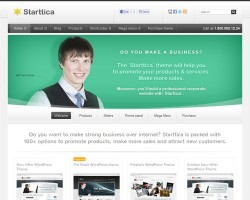 Starttica Business WordPress Theme