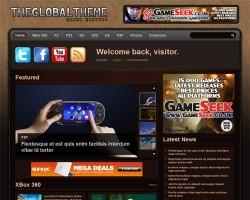 The Global Gamer WordPress Theme
