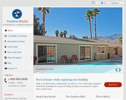 Vacation Home Rental WordPress Theme