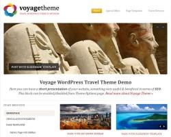 Voyage Premium WordPress Travel Theme