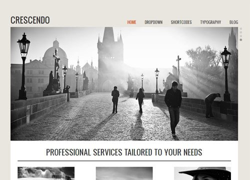 Crescendo Premium WordPress Theme