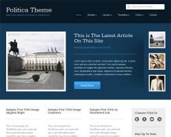 Politica Premium WordPress Political Theme