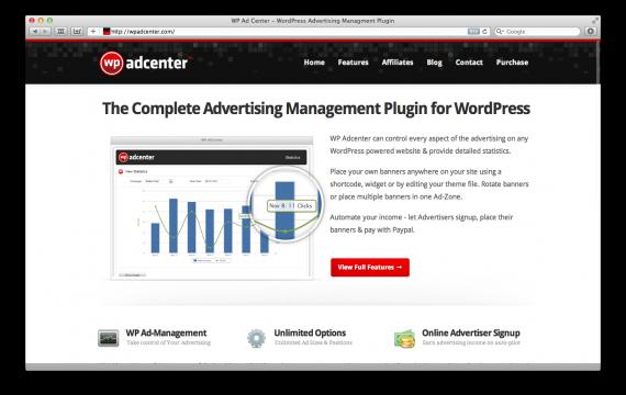 WP AdCenter WordPress Advertising Management Plugin