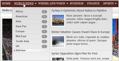 wordpress smart navigation
