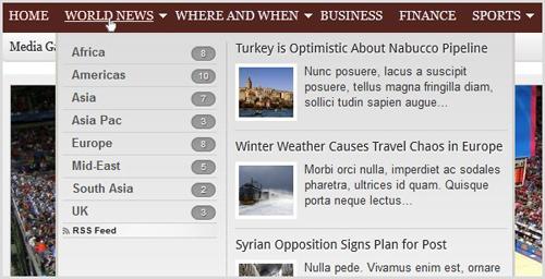 wordpress smart navigation