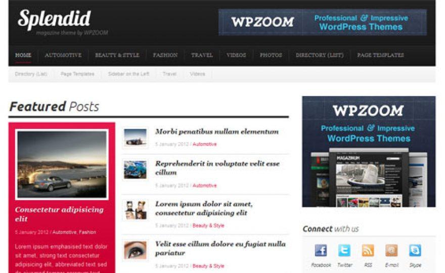 Splendid Magazine WordPress Theme
