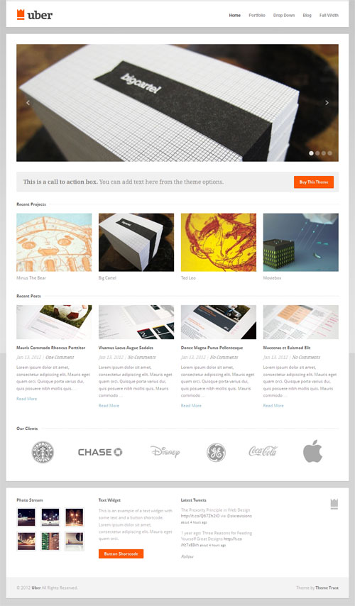 uber premium wordpress themes