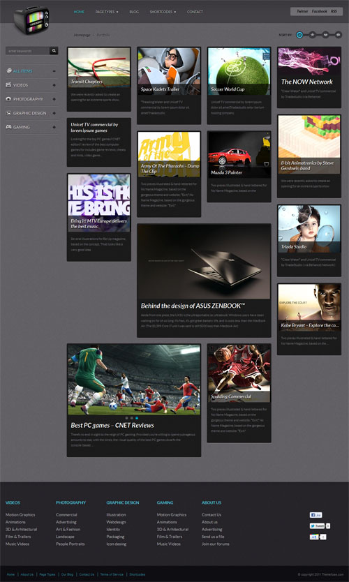Video & Media WordPress Theme