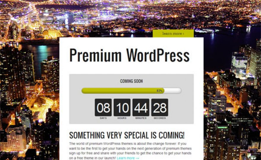 Review: Launch Effect Premium – A WordPress Theme for Viral Launches