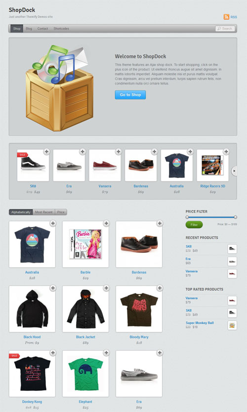 Shop Dock Ecommerce WordPress Theme