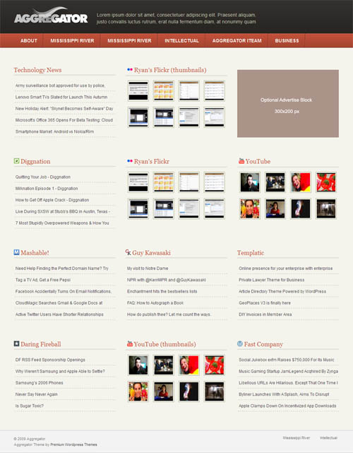 News aggregator template images template design ideas for News aggregator template