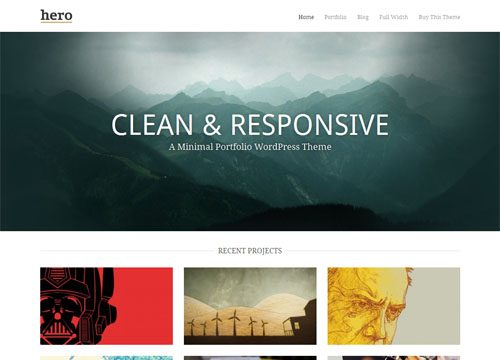 Hero Premium WordPress Theme