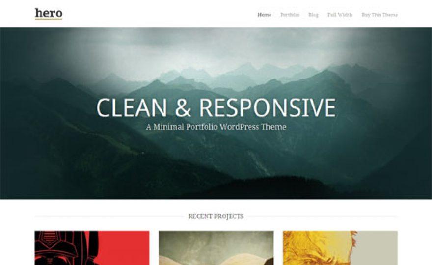 Hero Premium WordPress Theme