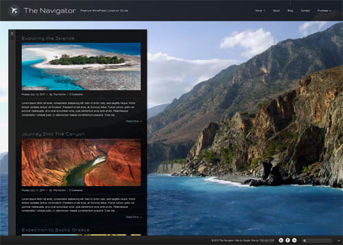 The Navigator Blog Theme