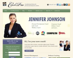 Personal Development Coach and Membership Site WordPress Theme
