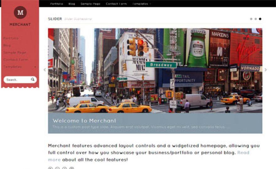 Merchant Premium WordPress Theme