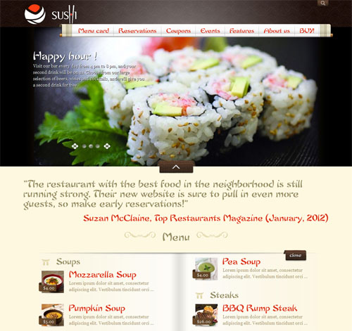 My Restaurant Theme Asian