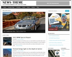 News Theme – Magazine WordPress Theme