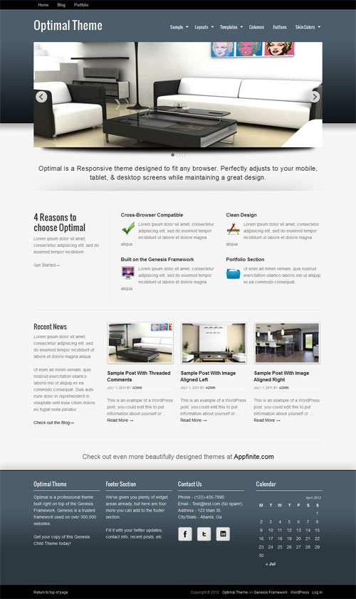 Optimal Responsive WordPress Theme